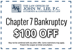 bankruptcy coupon