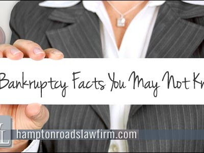 Chapter 13 Bankrupty Facts You May Not Know