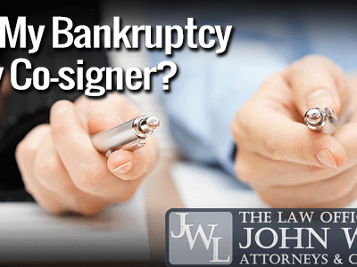 Bankruptcy and Co-Signers - Norfolk VA Bankruptcy Lawyers