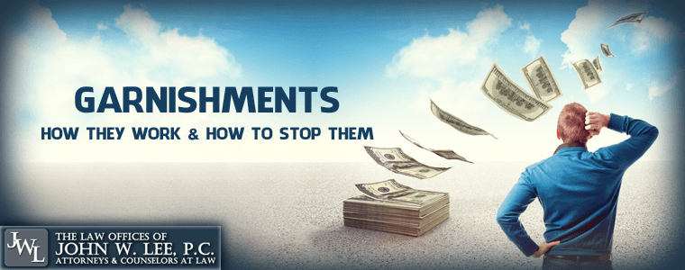 how to stop a wage garnishment in virginia