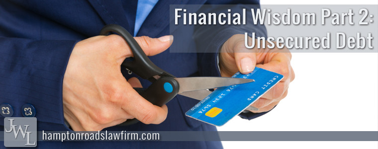 Controlling Unsecured Debt